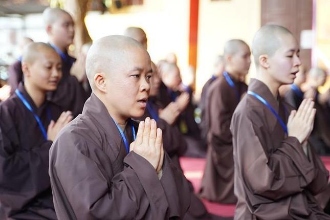 Hà Nội: Trang nghiêm khai mạc Đại giới đàn Phật lịch 2565 ảnh 27