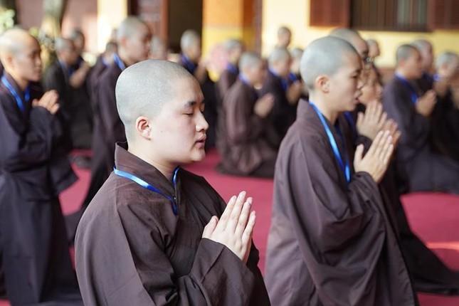 Hà Nội: Trang nghiêm khai mạc Đại giới đàn Phật lịch 2565 ảnh 28