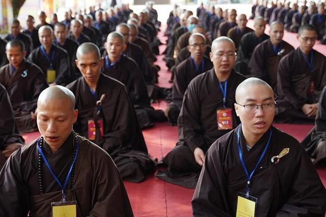 Hà Nội: Trang nghiêm khai mạc Đại giới đàn Phật lịch 2565 ảnh 29