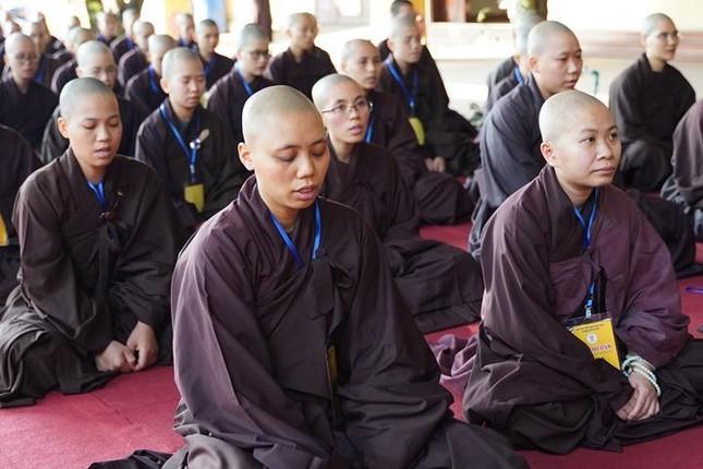 Hà Nội: Trang nghiêm khai mạc Đại giới đàn Phật lịch 2565 ảnh 31