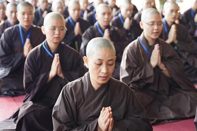 Hà Nội: Trang nghiêm khai mạc Đại giới đàn Phật lịch 2565 ảnh 33