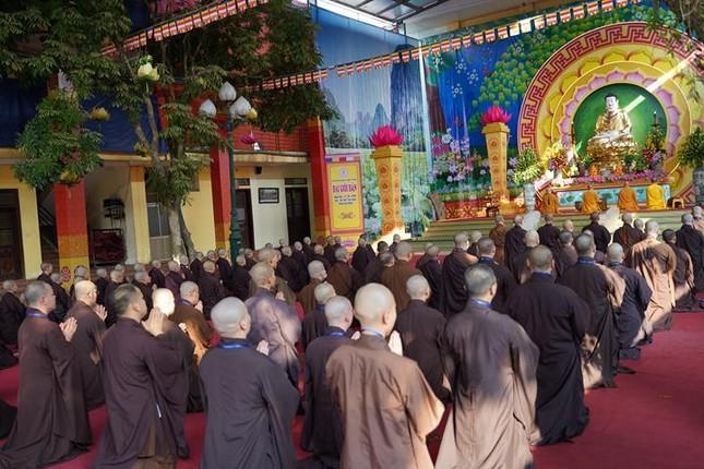 Hà Nội: Trang nghiêm khai mạc Đại giới đàn Phật lịch 2565 ảnh 36