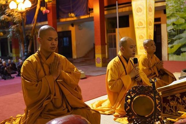 Hà Nội: Trang nghiêm khai mạc Đại giới đàn Phật lịch 2565 ảnh 37