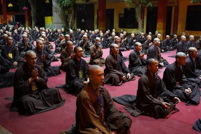 Hà Nội: Trang nghiêm khai mạc Đại giới đàn Phật lịch 2565 ảnh 39