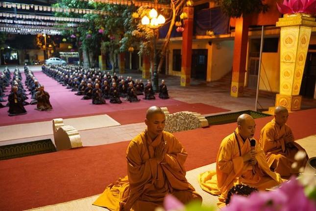 Hà Nội: Trang nghiêm khai mạc Đại giới đàn Phật lịch 2565 ảnh 41