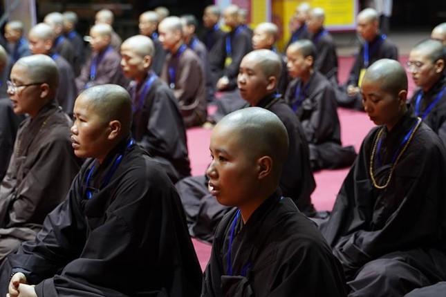 Hà Nội: Trang nghiêm khai mạc Đại giới đàn Phật lịch 2565 ảnh 42