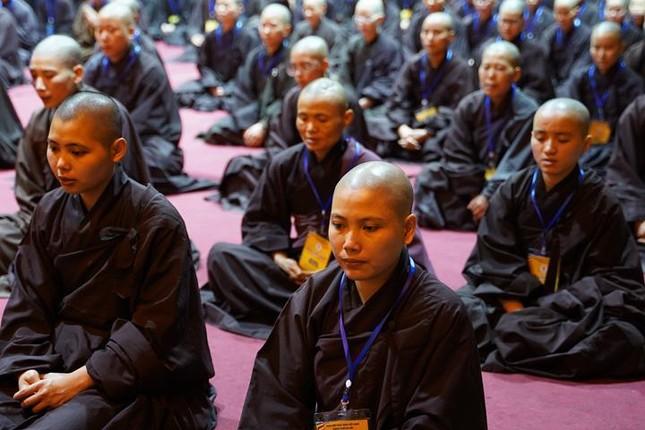 Hà Nội: Trang nghiêm khai mạc Đại giới đàn Phật lịch 2565 ảnh 44