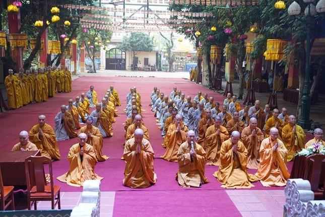 Chính thức truyền giới tại Đại giới đàn Hà Nội Phật lịch 2565 ảnh 99
