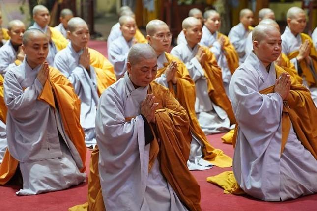 Chính thức truyền giới tại Đại giới đàn Hà Nội Phật lịch 2565 ảnh 100