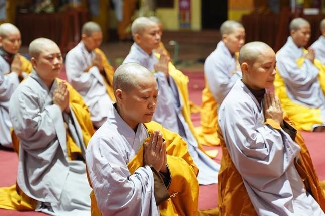 Chính thức truyền giới tại Đại giới đàn Hà Nội Phật lịch 2565 ảnh 101