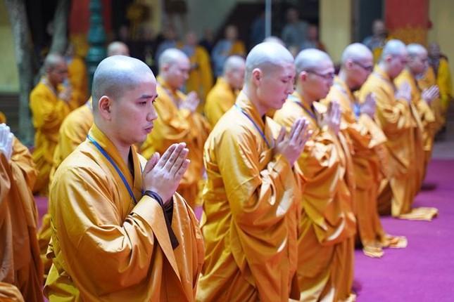 Chính thức truyền giới tại Đại giới đàn Hà Nội Phật lịch 2565 ảnh 104