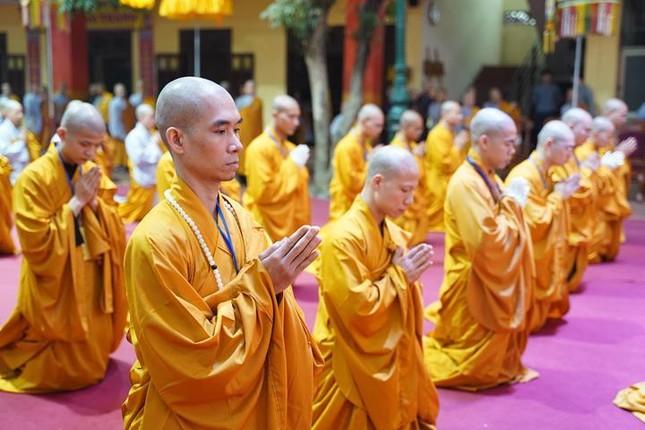 Chính thức truyền giới tại Đại giới đàn Hà Nội Phật lịch 2565 ảnh 105