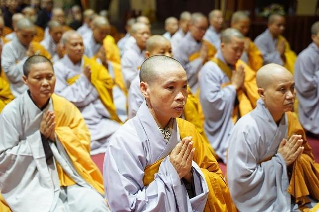 Chính thức truyền giới tại Đại giới đàn Hà Nội Phật lịch 2565 ảnh 11