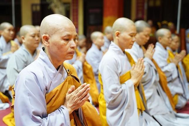 Chính thức truyền giới tại Đại giới đàn Hà Nội Phật lịch 2565 ảnh 12