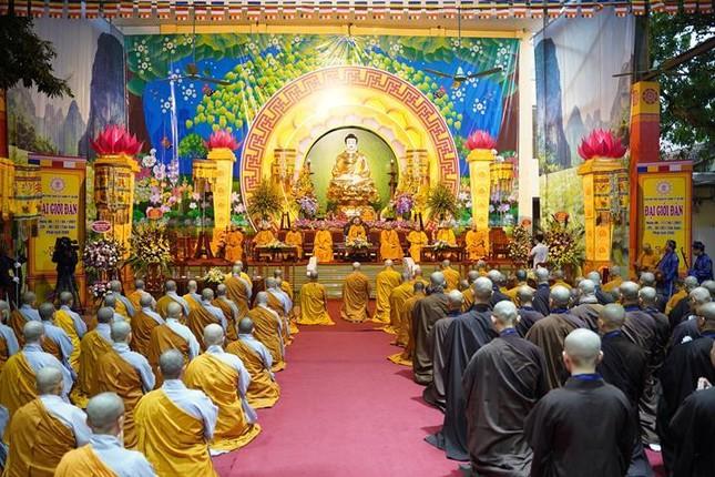 Chính thức truyền giới tại Đại giới đàn Hà Nội Phật lịch 2565 ảnh 13