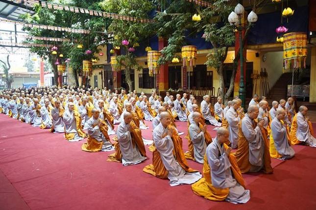 Chính thức truyền giới tại Đại giới đàn Hà Nội Phật lịch 2565 ảnh 16
