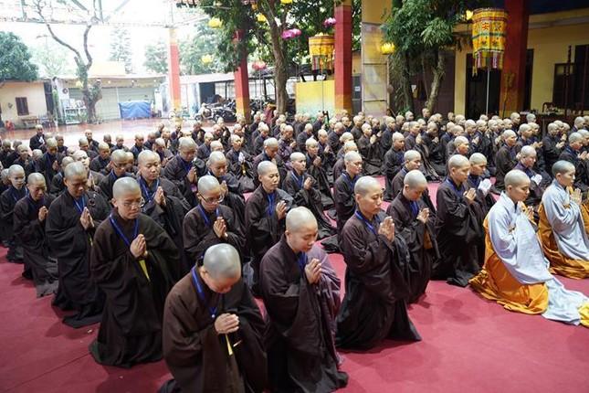Chính thức truyền giới tại Đại giới đàn Hà Nội Phật lịch 2565 ảnh 19