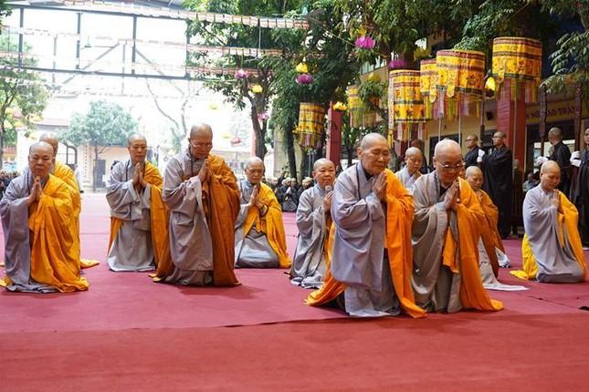 Chính thức truyền giới tại Đại giới đàn Hà Nội Phật lịch 2565 ảnh 23