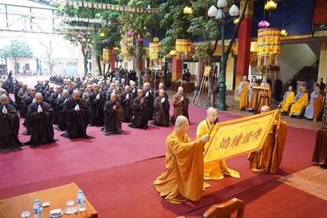 Chính thức truyền giới tại Đại giới đàn Hà Nội Phật lịch 2565 ảnh 25