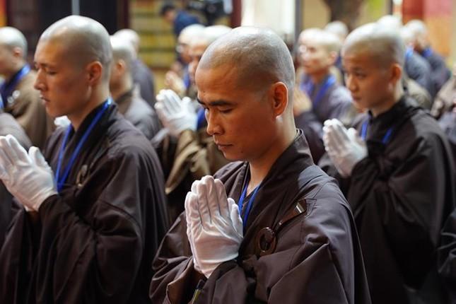 Chính thức truyền giới tại Đại giới đàn Hà Nội Phật lịch 2565 ảnh 28
