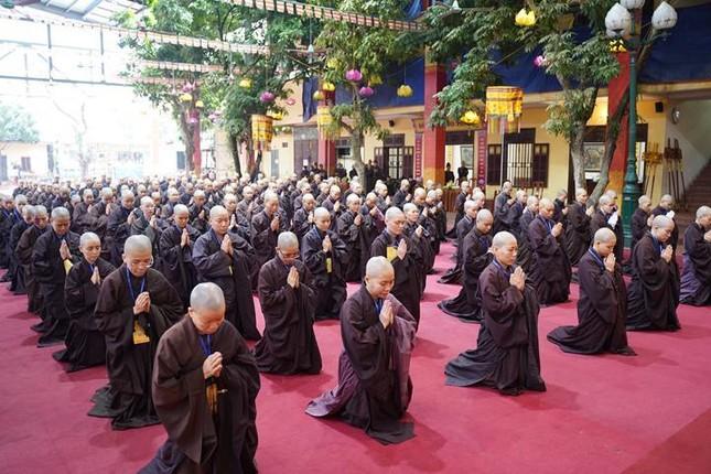 Chính thức truyền giới tại Đại giới đàn Hà Nội Phật lịch 2565 ảnh 31