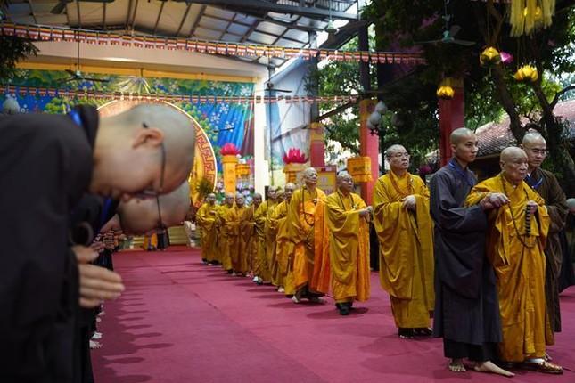 Chính thức truyền giới tại Đại giới đàn Hà Nội Phật lịch 2565 ảnh 35