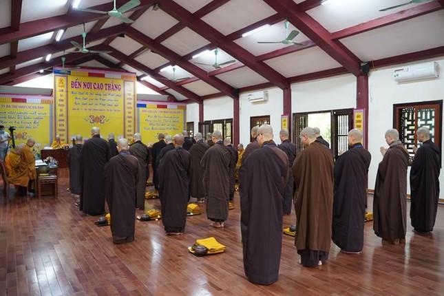 Chính thức truyền giới tại Đại giới đàn Hà Nội Phật lịch 2565 ảnh 43