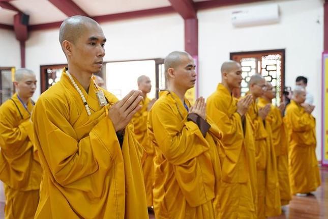 Chính thức truyền giới tại Đại giới đàn Hà Nội Phật lịch 2565 ảnh 46