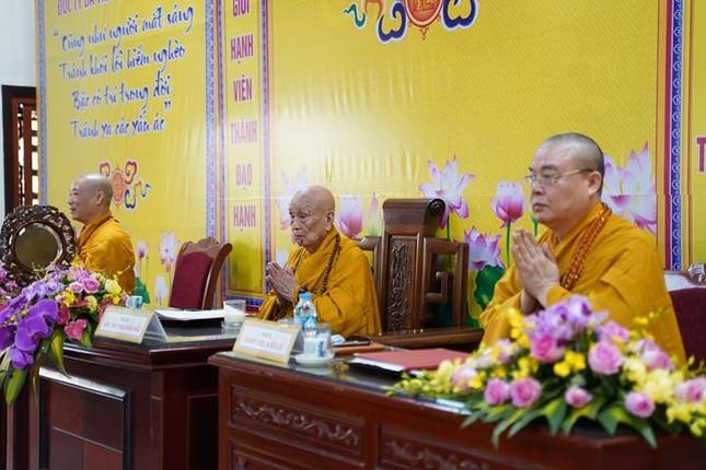 Chính thức truyền giới tại Đại giới đàn Hà Nội Phật lịch 2565 ảnh 47