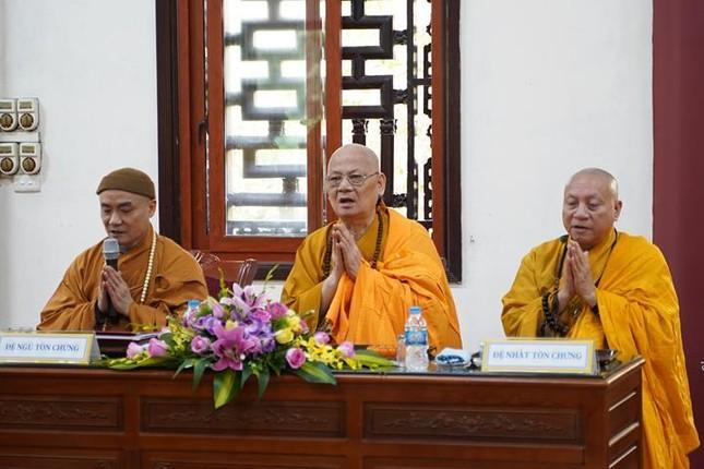 Chính thức truyền giới tại Đại giới đàn Hà Nội Phật lịch 2565 ảnh 48