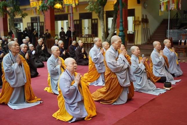 Chính thức truyền giới tại Đại giới đàn Hà Nội Phật lịch 2565 ảnh 53