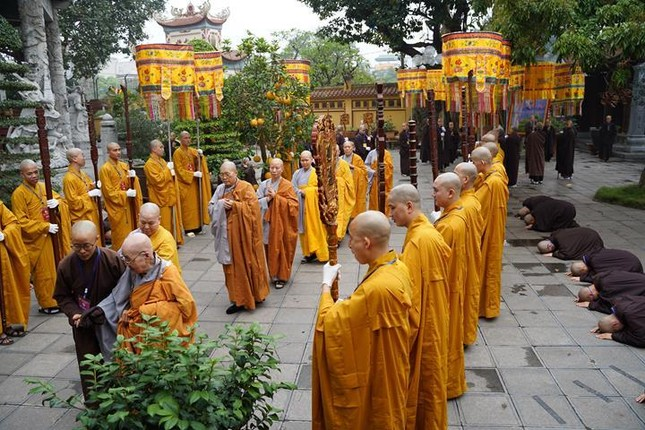 Chính thức truyền giới tại Đại giới đàn Hà Nội Phật lịch 2565 ảnh 66