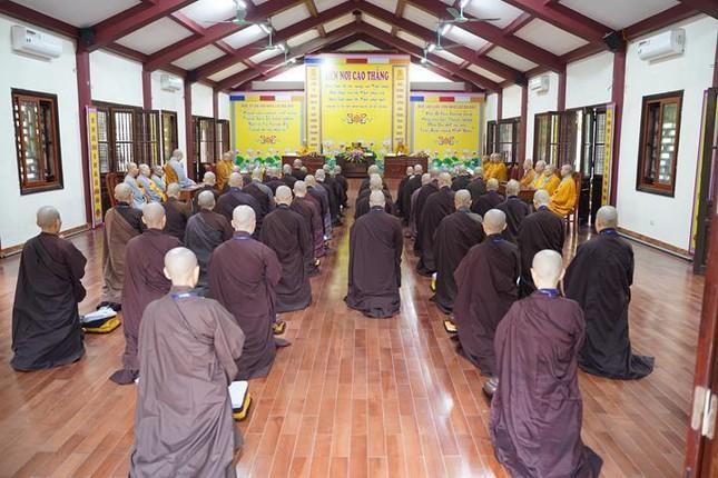 Chính thức truyền giới tại Đại giới đàn Hà Nội Phật lịch 2565 ảnh 79