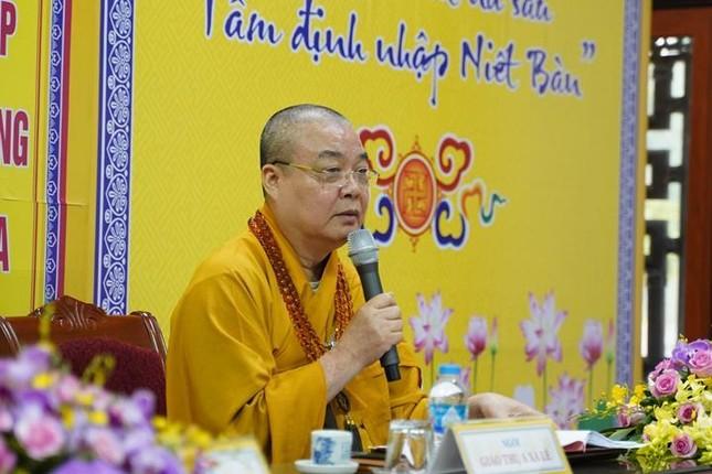 Chính thức truyền giới tại Đại giới đàn Hà Nội Phật lịch 2565 ảnh 86