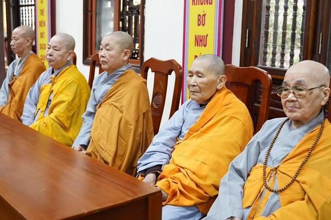 Chính thức truyền giới tại Đại giới đàn Hà Nội Phật lịch 2565 ảnh 87