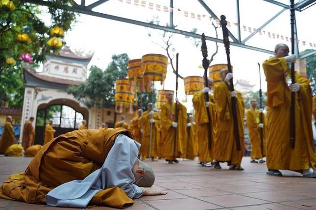 Chính thức truyền giới tại Đại giới đàn Hà Nội Phật lịch 2565 ảnh 90