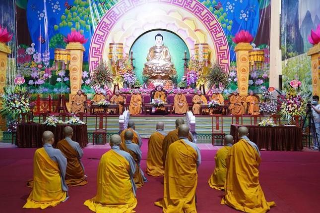 Chính thức truyền giới tại Đại giới đàn Hà Nội Phật lịch 2565 ảnh 94