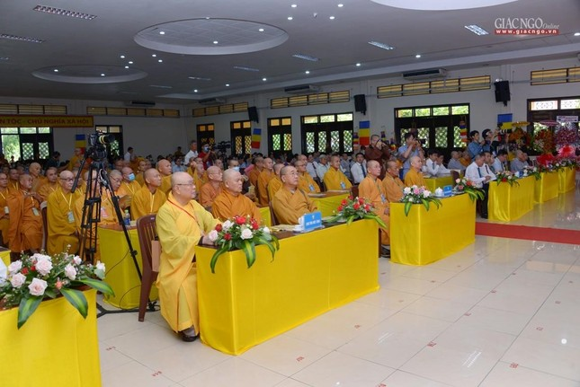 Ban Trị sự GHPGVN huyện Hóc Môn có tân Trưởng ban ảnh 11