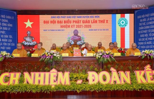 Ban Trị sự GHPGVN huyện Hóc Môn có tân Trưởng ban ảnh 1