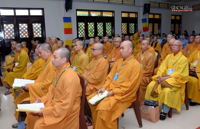 Ban Trị sự GHPGVN huyện Hóc Môn có tân Trưởng ban ảnh 15