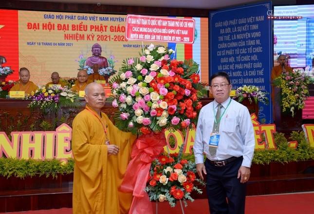 Ban Trị sự GHPGVN huyện Hóc Môn có tân Trưởng ban ảnh 22