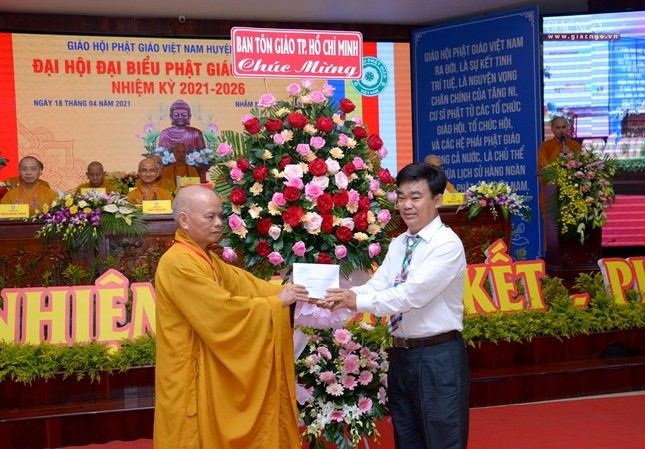 Ban Trị sự GHPGVN huyện Hóc Môn có tân Trưởng ban ảnh 23