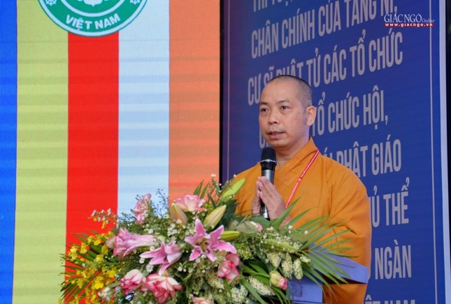 Ban Trị sự GHPGVN huyện Hóc Môn có tân Trưởng ban ảnh 25