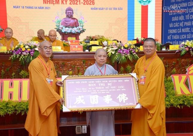 Ban Trị sự GHPGVN huyện Hóc Môn có tân Trưởng ban ảnh 41