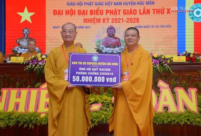 Ban Trị sự GHPGVN huyện Hóc Môn có tân Trưởng ban ảnh 43