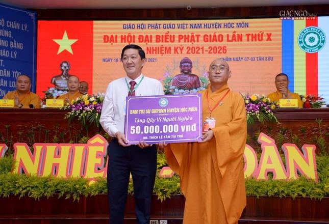 Ban Trị sự GHPGVN huyện Hóc Môn có tân Trưởng ban ảnh 44
