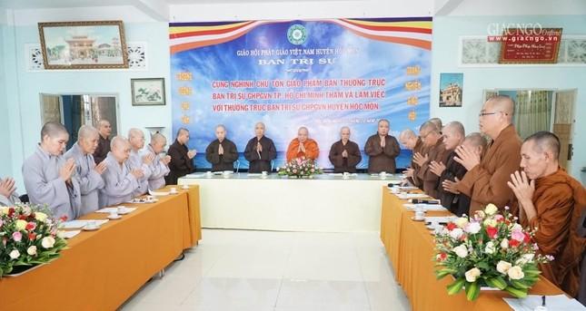 Phật giáo huyện Hóc Môn: Ưu tiên hiệu quả thực tế trong hoạt động Phật sự ảnh 2