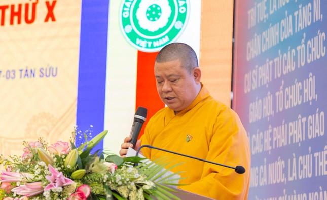 Phật giáo huyện Hóc Môn: Ưu tiên hiệu quả thực tế trong hoạt động Phật sự ảnh 1