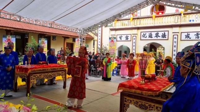 Hà Nội: Lễ hội truyền thống chùa Duệ Tú, tưởng nhớ thiền sư Giác Hoàng Đại Điên ảnh 3