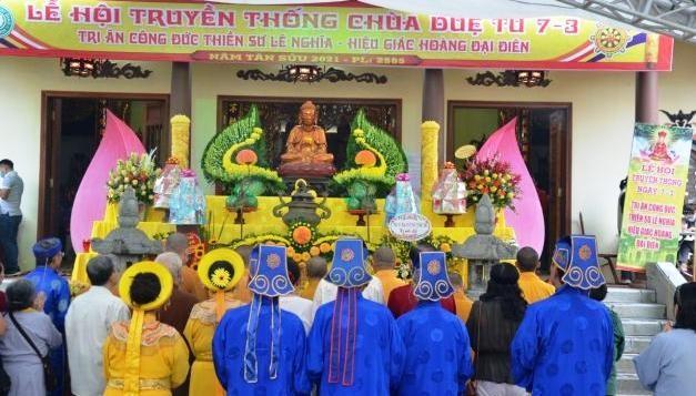 Hà Nội: Lễ hội truyền thống chùa Duệ Tú, tưởng nhớ thiền sư Giác Hoàng Đại Điên ảnh 4